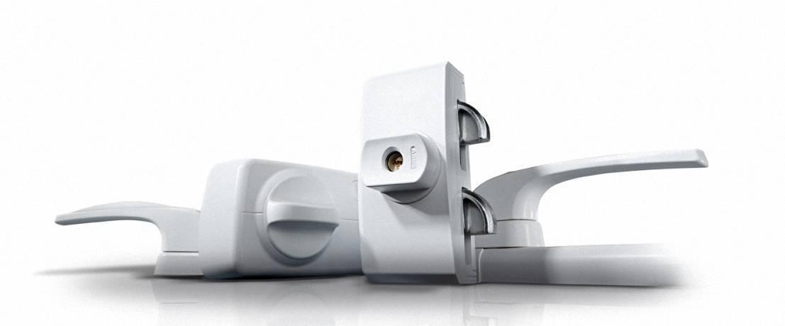 Mechsetron ABUS 10 Mechatronischer Einbruchschutz Fenster Tuersicherheit