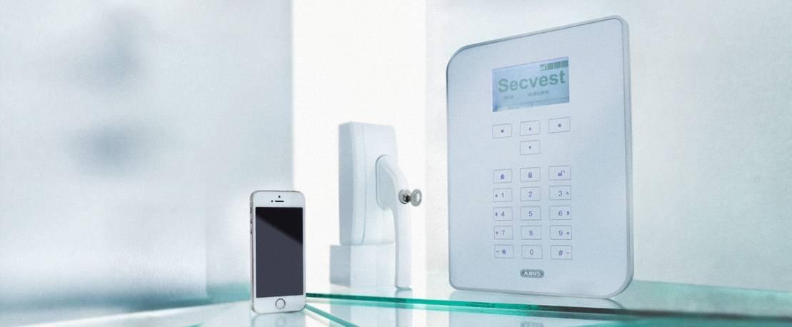 Mechsetron ABUS 17 Funkalarmsystem Sicherheitstechnik Haussicherheit
